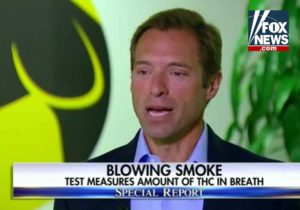 Fox News explains the concerns over stoned driving, and Hound Labs' THC breathalyzer is showcased