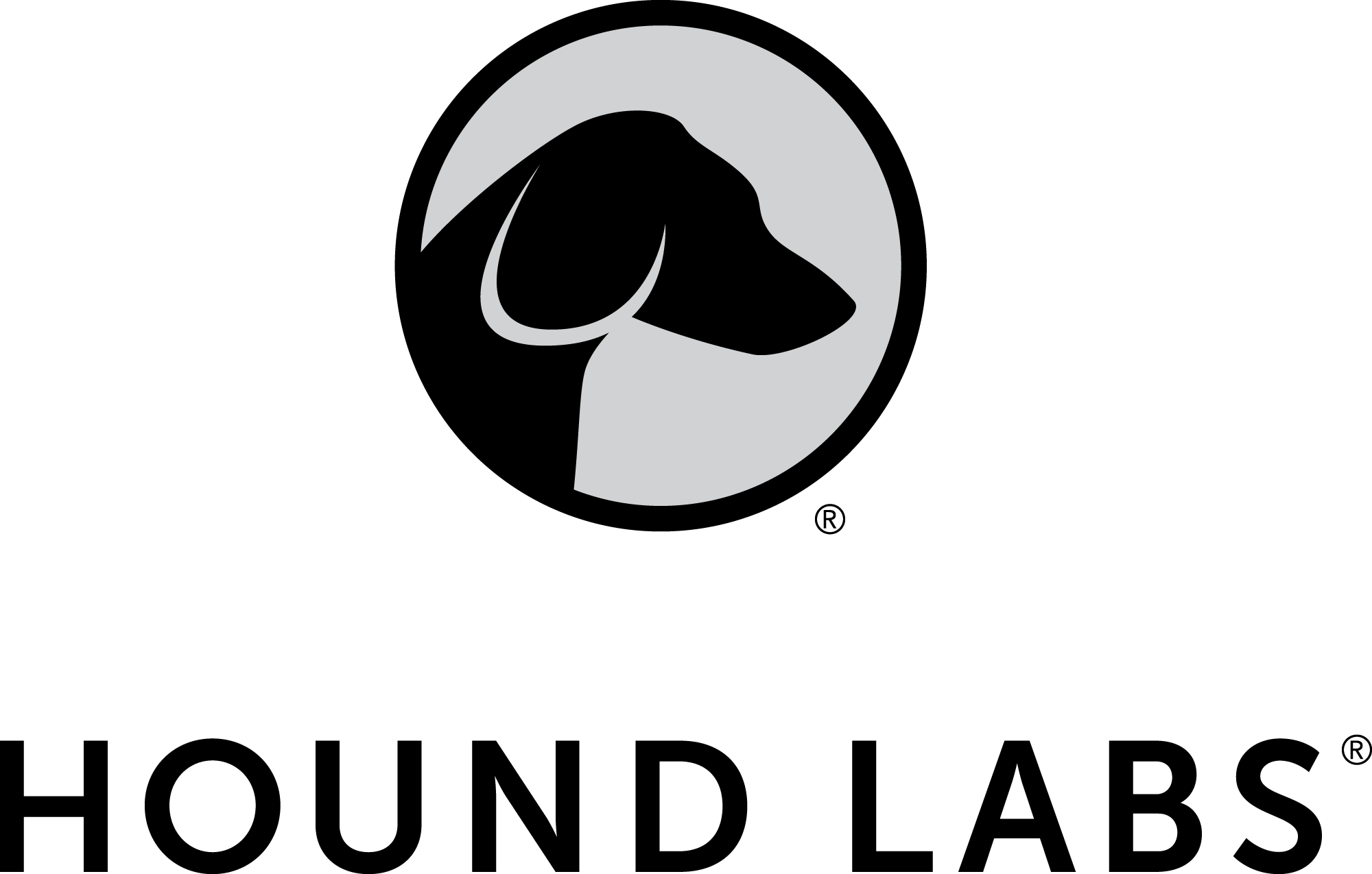 Hound Labs Greyscale Vertical Logo_2000px