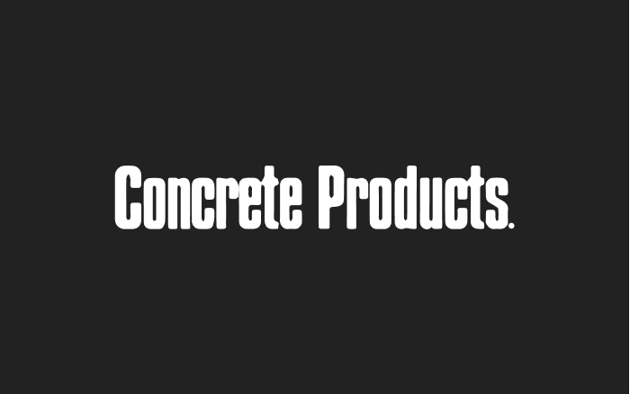 Concrete Product Homepage Feature