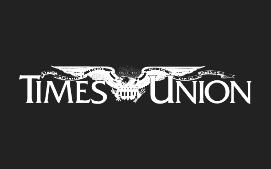 Times Union Logo on Black