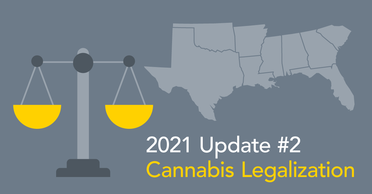 Cannabis legalization update