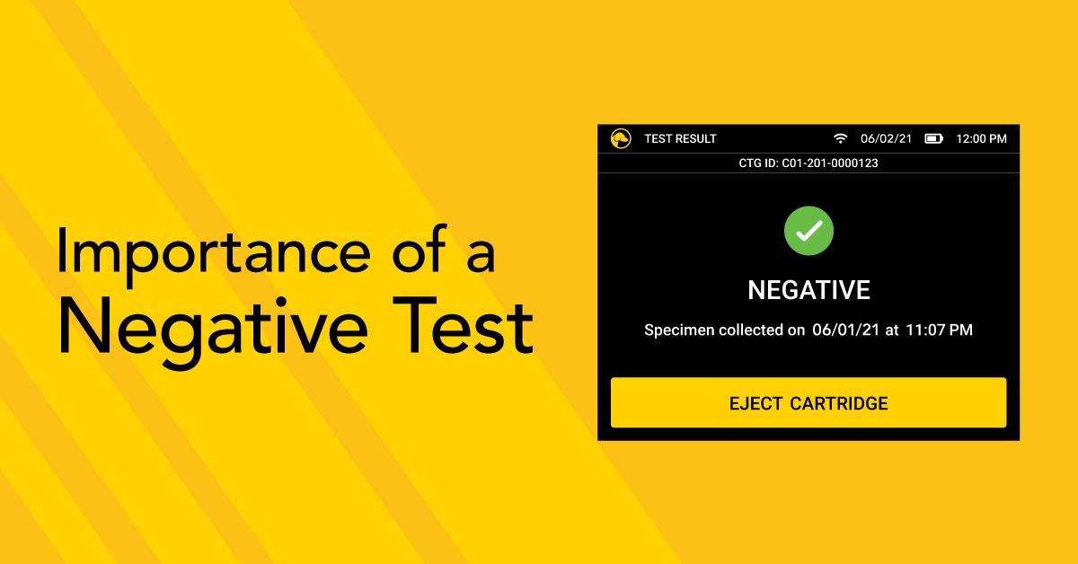 Negative Drug Test
