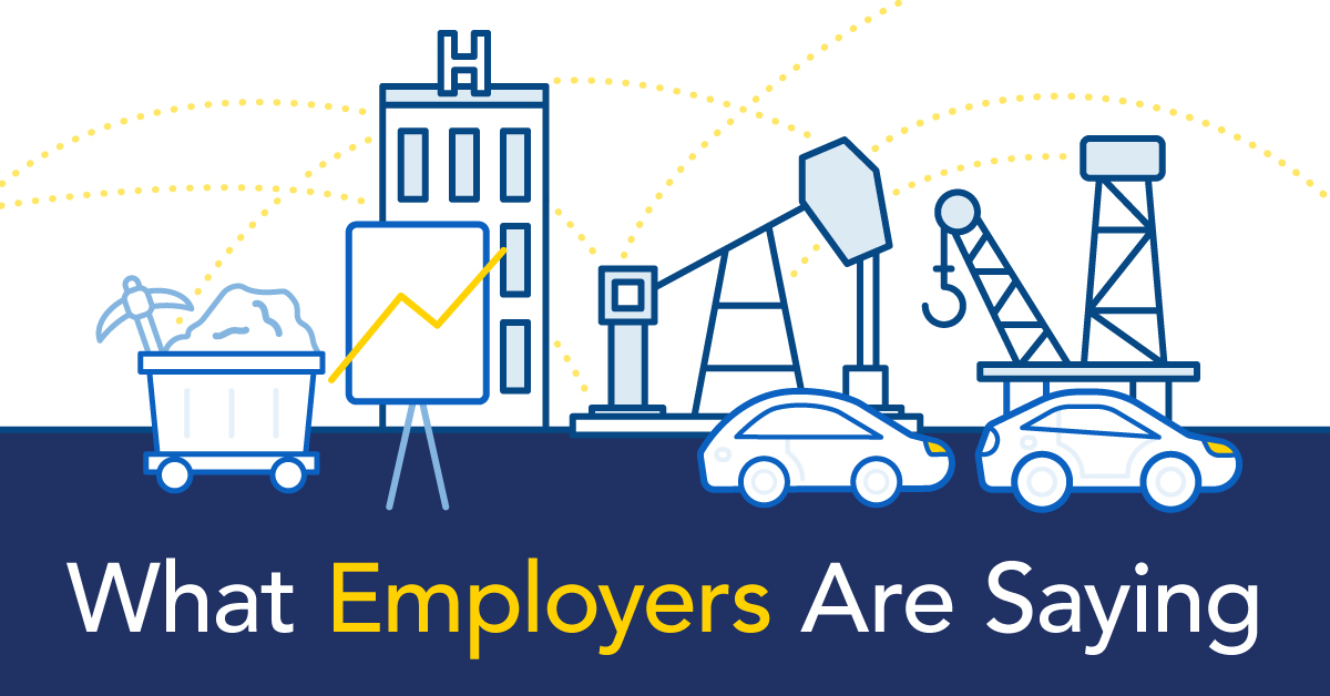 What Employers are Saying